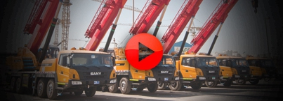 Launching of 1200 ton all terrain crane