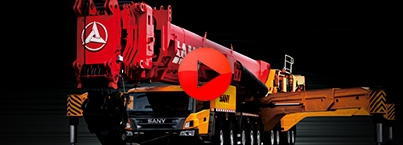Launch of Sany Mobile Cranes in Sultanate of Oman